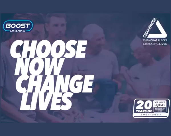 Boost Drinks Now Change Lives Programme